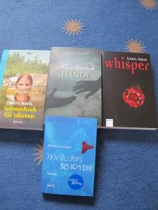 4 neue Bücher